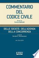 Delle società - Dell'azienda - Della concorrenza, artt. 2511-2574 - vol. IV
