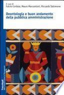 Deontologia e buon andamento della pubblica amministrazione