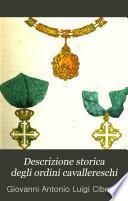 Descrizione storica degli ordini cavallereschi