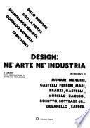 Design, nè arte nè industria