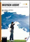 Deutsch leicht. Corso di lingua tedesca A1-B2. Kursbuch-Arbeitsbuch-Fundgrube. Con espansione online. Per le Scuole superiori. Con CD Audio formato MP3. Con DVD-ROM