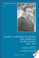 Diario e memorie di guerra del marinaio Mario Panfili, 1940-1945