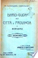 Diario guida della citta e provincia di Bergamo