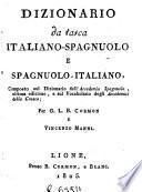 Diccionario de faltriquera italiano-español y español-italiano