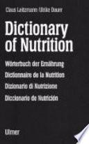 Dictionary of Nutrition
