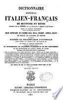 Dictionnaire général italien-français