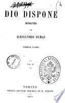 Dio dispone romanzo di Alessandro Dumas