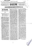 Diogene giornale scientifico-letterario
