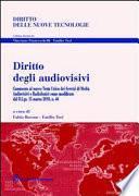 Diritto degli audiovisivi