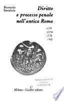 Diritto e processo penale nell'antica Roma