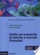 Diritto ed economia di banche e mercati finanziari