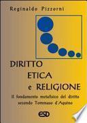 Diritto, etica e religione