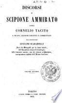 Discorsi di Scipione Ammirato sopra Cornelio Tacito