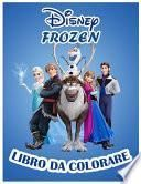 Disney Frozen Libro da colorare