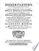 Dissertazione istorico-etrusca sopra l'origine, antico stato, lingua e caratteri della etrusca nazione e sopra l'origine, e primo, e posteriore stato della città di Volterra