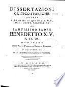 Dissertazioni critico-storiche intorno alla Rezia di qua dalle Alpi, oggi detta Valtellina
