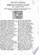 Divota istoria della Santa Casa di Loreto, etc. [In verse.]