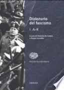 Dizionario del fascismo