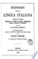 Dizionario della lingua italiana compilato sui dizionarii Tramater, D'Alberti ... per cura di Antonio Sergent
