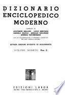 Dizionario enciclopedico moderno