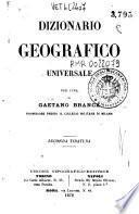 Dizionario geografico universale