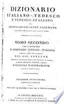 Dizionario italiano-tedesco et tedesco-italiano