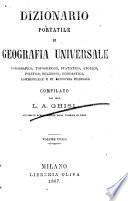 Dizionario portatile di geografia universale