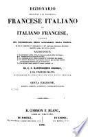 Dizionario portatile e di pronunzia francese italiano e italiano-francese