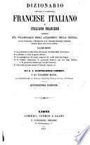 Dizionario portatile e di pronunzia, francese italiano e italiano francese