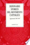 Dizionario storico del movimento cattolico