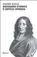 Dizionario storico e critico: Spinoza