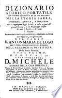 Dizionario storico portatile