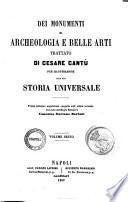 Documenti alla storia universale di Cesare Cantu