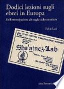 Dodici lezioni sugli ebrei in Europa
