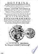 Dottrina dello stoico filosofo Epitteto Che chiamasi communemente Enchiridion