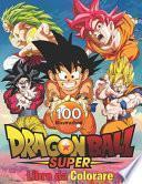 Dragon Ball Super Libro da Colorare