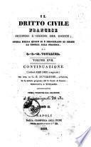 Dritto civile francese secondo l'ordine del codice opera nella quale si e' procurato di unire la teoria alla pratica G. B. M. Toullier