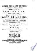 Duca di Modena Tomo VI
