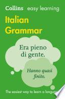 Easy Learning Italian Grammar (Collins Easy Learning Italian)
