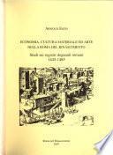 Economia, cultura materiale ed arte nella Roma del Rinascimento