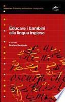Educare i bambini alla lingua inglese