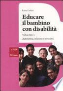 Educare il bambino con disabilità
