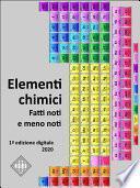 Elementi chimici. Fatti noti e meno noti