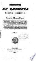 Elementi di chimica filosofico-sperimentale