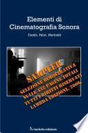 Elementi di cinematografia sonora