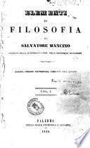 Elementi di filosofia di Salvatore Mancino
