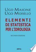 Elementi di statistica per l'idrologia