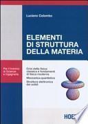 Elementi di struttura della materia