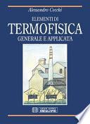 Elementi di Termofisica generale ed applicata