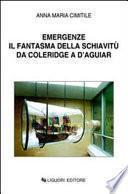 Emergenze. Il fantasma della schiavitù da Coleridge a D'Aguiar